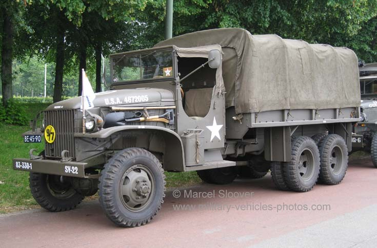 WWII GMC Troop Carrier in Holland
