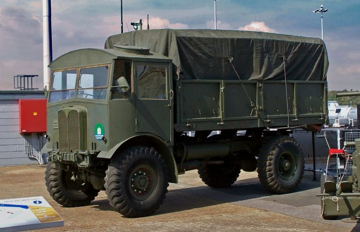 AEC Matador Army Truck of WWII