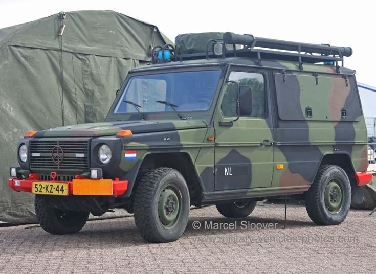 Mercedes jeep Explosive Disposal Unit