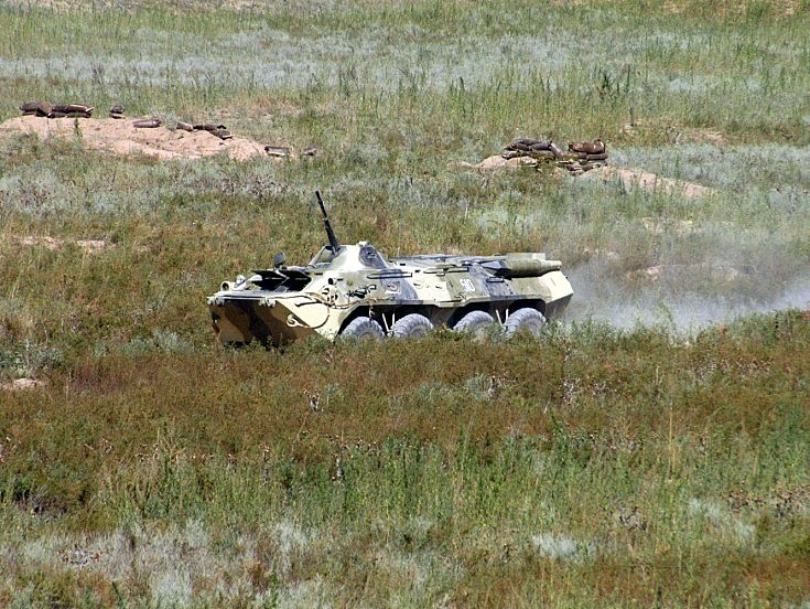 BTR-80. Kazakhstan August 2004