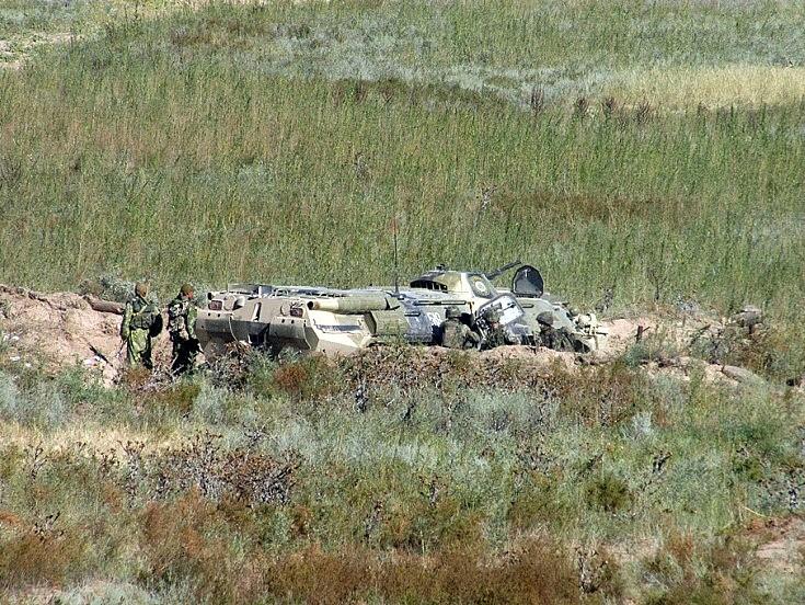 BTR-80. Kazakhstan August 2004