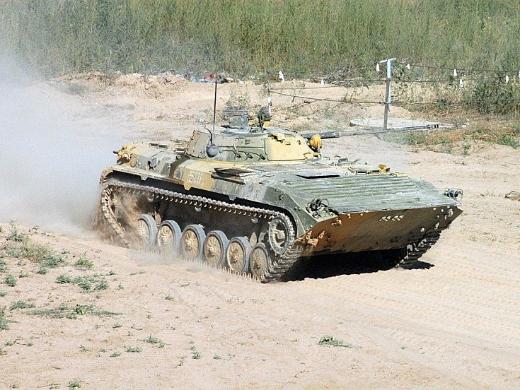 BMP-2. Kazakhstan August 2004