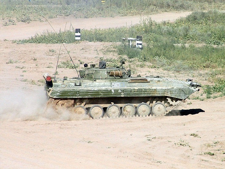 BMP-2K. Kazakhstan August 2004
