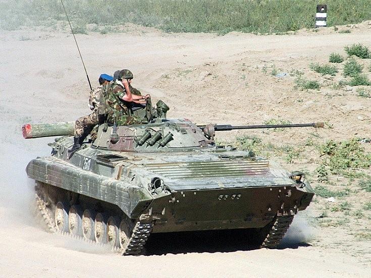 BMP-2. Kazakhstan August 2004