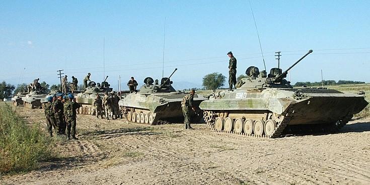 BMP-2 Platoon, Kazakhstan August 2004