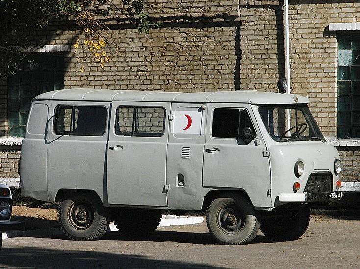 UAZ-452 Minibus/Ambulance