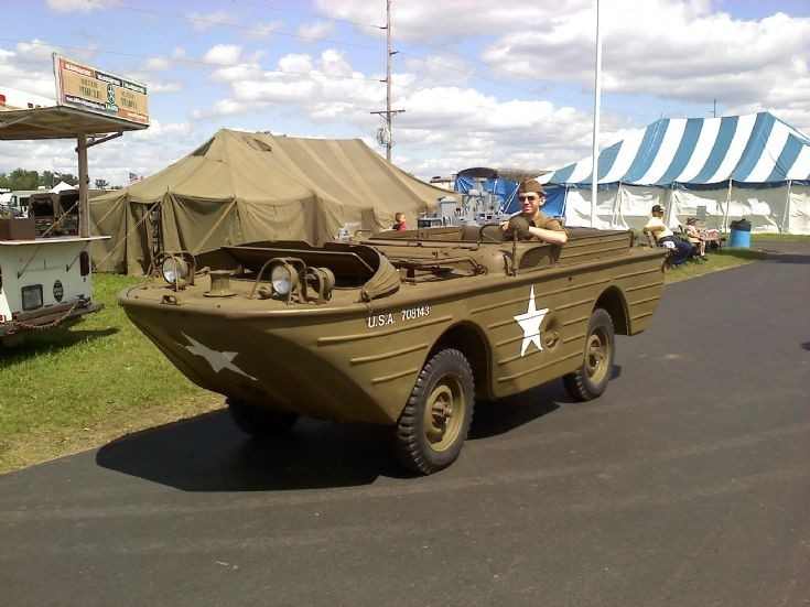 Military Vehicle Photos - Picture of Ford GPA Amphibious Jeep