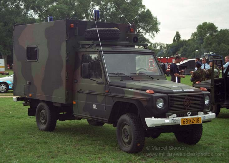 Military police Mercedes jeep