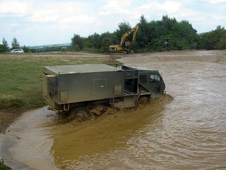 The muddy pool