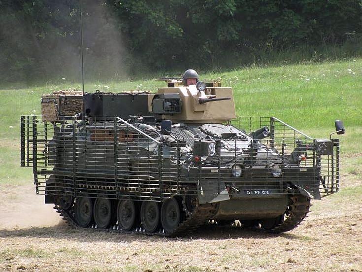 FV103 Spartan APC with WRAP 2 armour