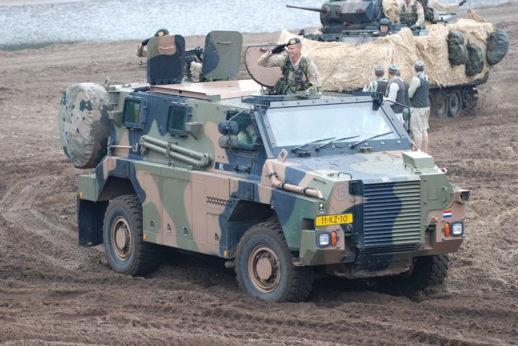 Photo of Royal Netherlands Army Bushmaster APV