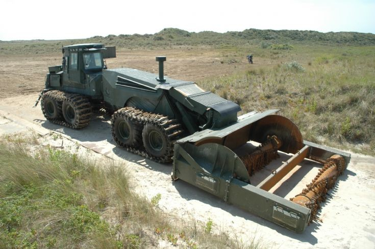 Scanjack 3500 Mine Clearing System