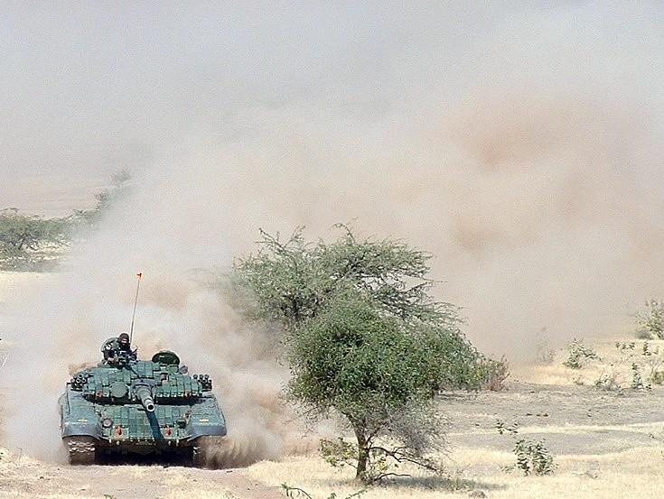 Indian T-72 Ajeya