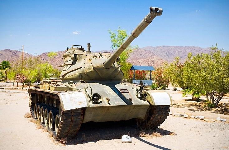 M-47 Patton Tank