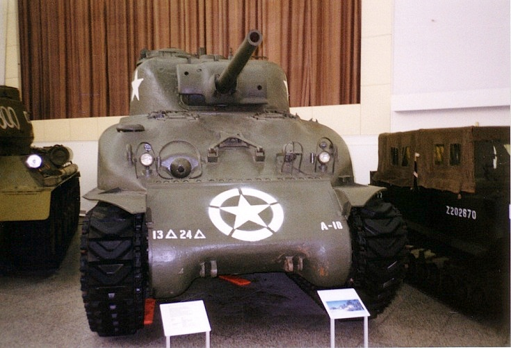 M4 Sherman 'Eternity' tank