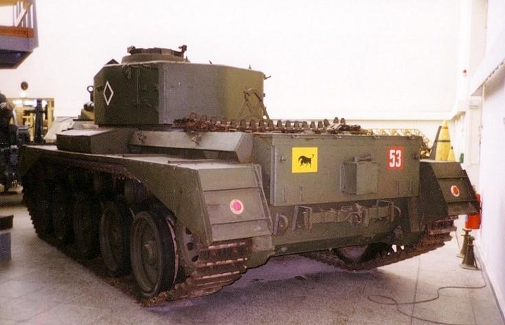 Cromwell - Cruiser Tank - 6 pounder gun