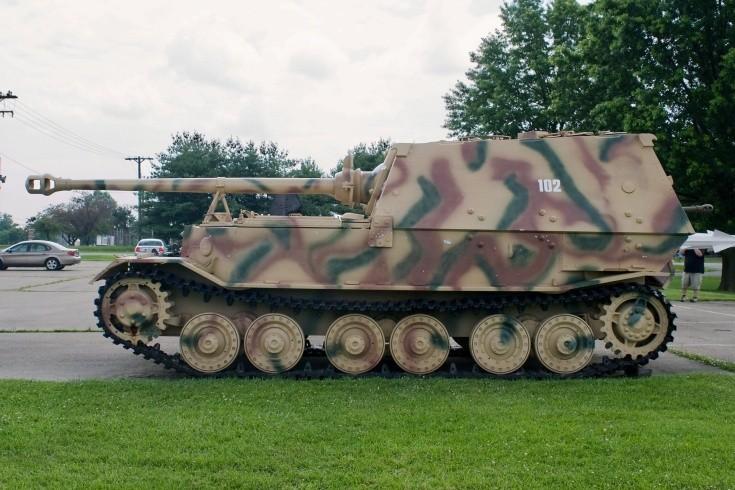 German Jadgpanzer 'Elefant' Ferdinand
