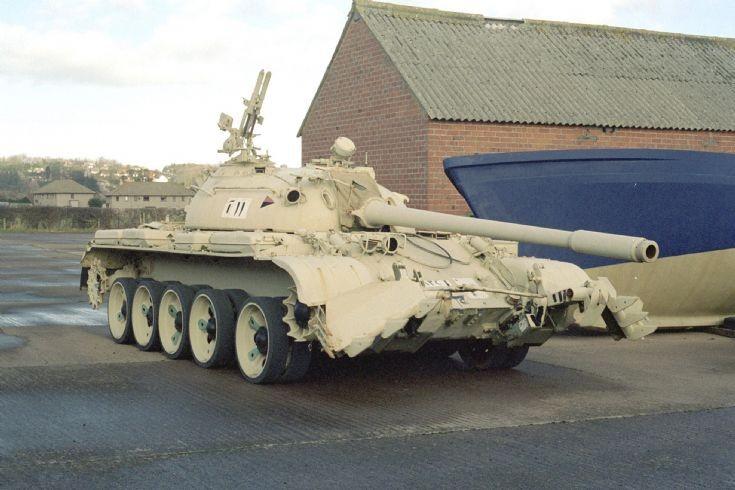 T62 ex Gulf War Belford Northumberland.