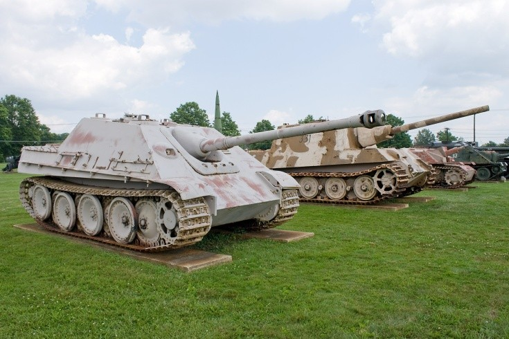 German Jagdpanther and Jagdtiger