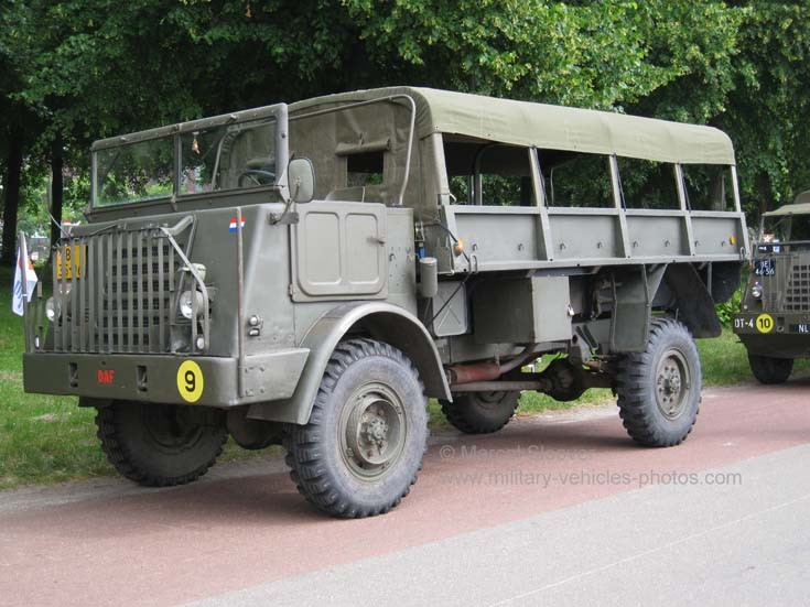1954 built DAF Troop Carrier