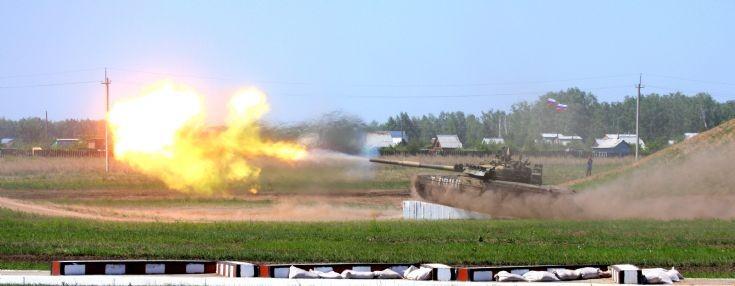 life firing T-80UK