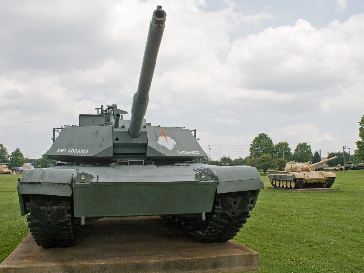M1 Abrams named 'Thunderbolt'