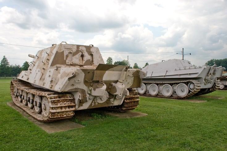 German Jagdtiger and Jagdpanther