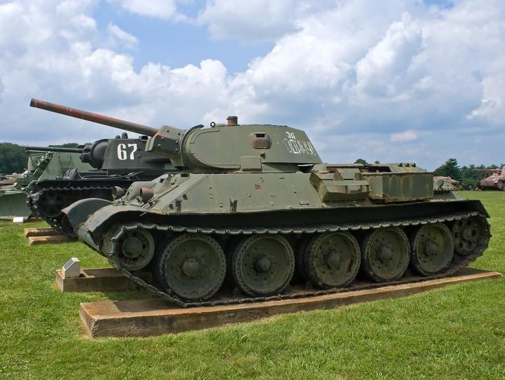 Russian T-34-76