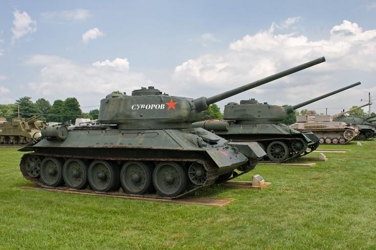 Russian T-34-85 Medium Tank's