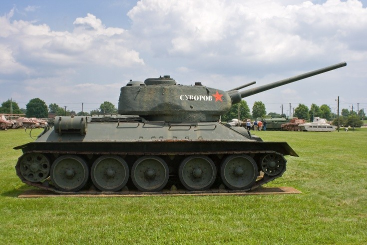 Russian T-34-85 Medium Tank