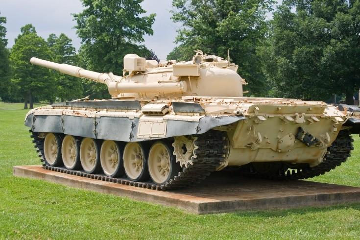 Russian T-72 MBT