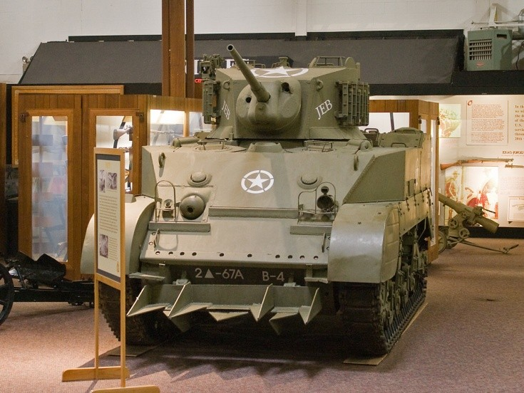 U.S. M3 Stewart named 'JEB'