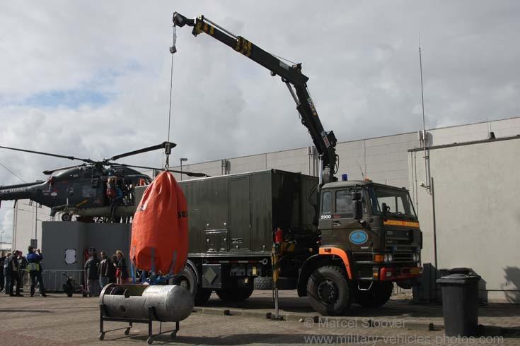 DAF Dutch Navy Bomb disposal unit
