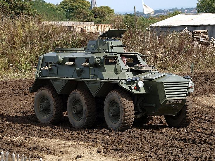 Saracen Armoured Car XV0184