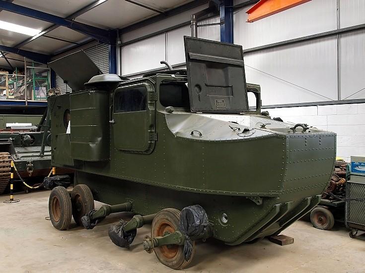 M-76 Otter amphibious vehicle restoration
