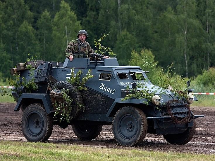 SdKfz 221 replica