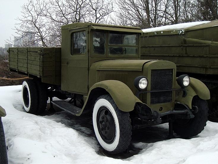 Ural-Zis 5 at Great Patriotic War museum