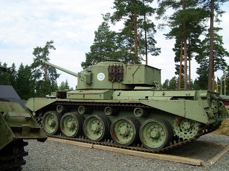 Comet tank at tank museum