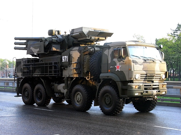 Pantsir-S1 on KAMAZ-6560 