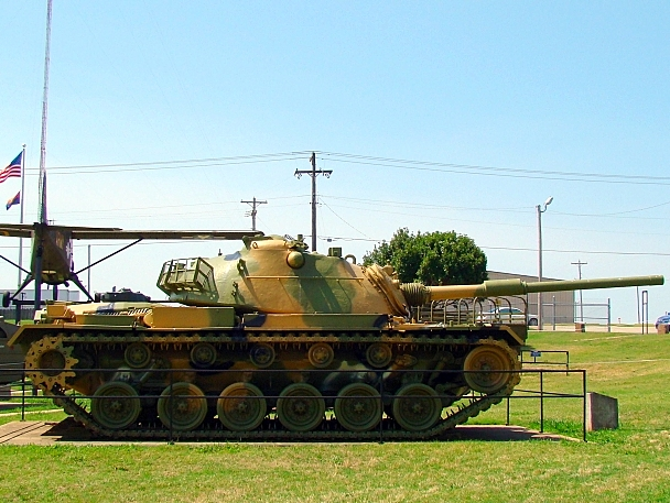 Side view of M60A1 Patton
