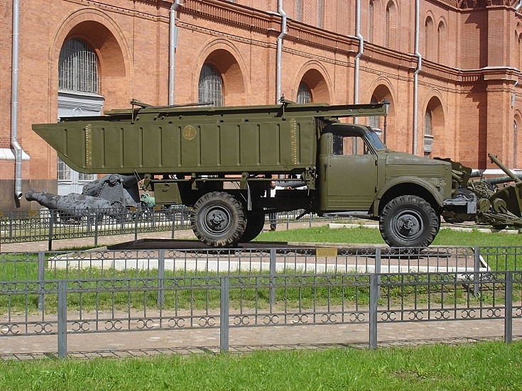 LPP on Gaz-63 chassis