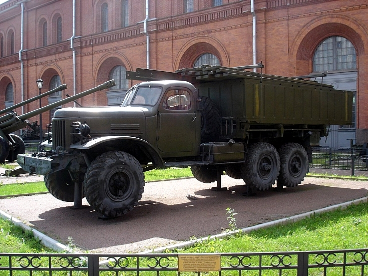 Photo of LPP on Gaz-63 chassis