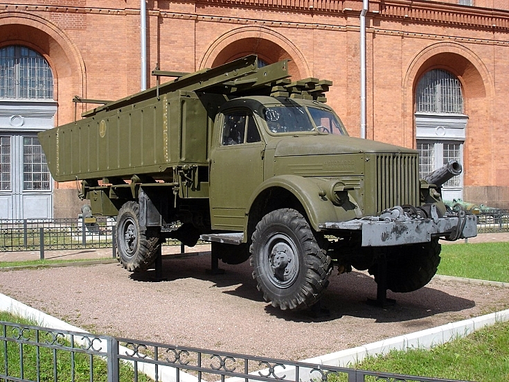 GAZ-63А with front section of LPP