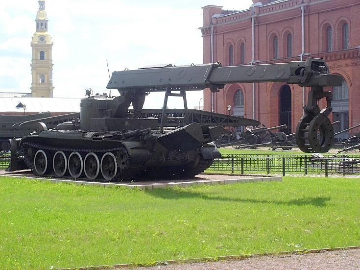 IMR Combat engineer vehicle
