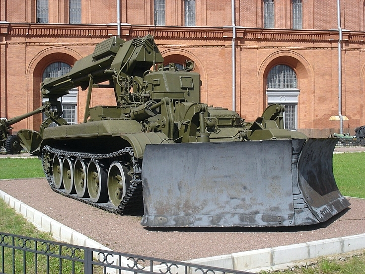 IMR on T-55 chassis