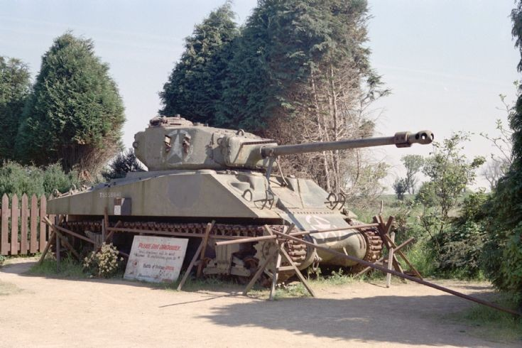 Sherman Occupation Museum Jersey 1990.