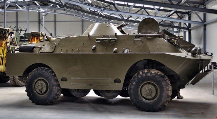 BRDM-2RCh reconaissance vehicle