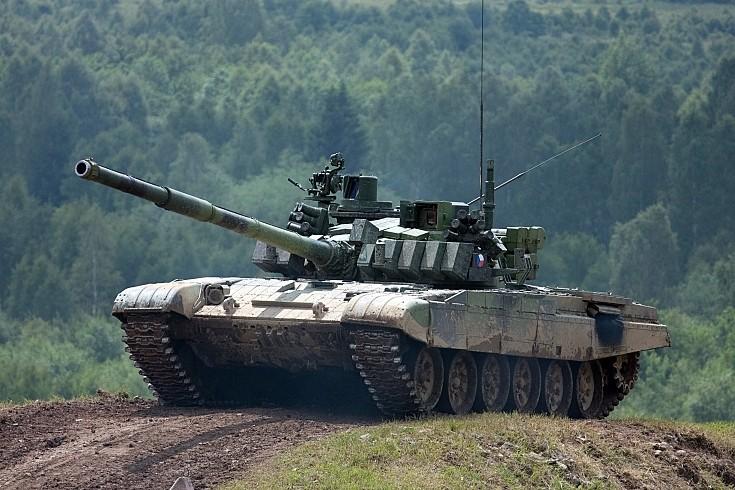 Czech T-72 MBT