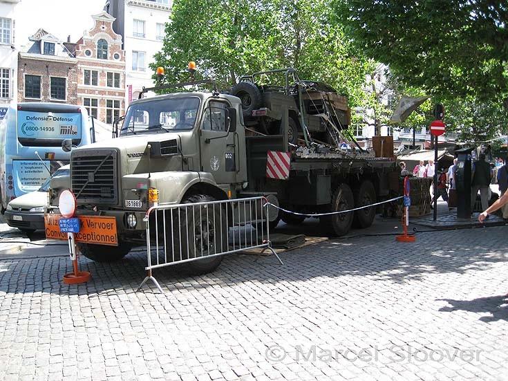 Army 'uitzonderlijk vervoer'