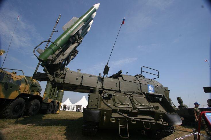 Buk-M2E in Russia